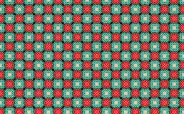 New abstract image with kaleidoscope style ornament can use like retro wallpaper. Painted colors computer background red green with white lines Royalty Free Stock Photo
