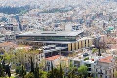 New Acropolis museum, Athens, Greece Royalty Free Stock Photos