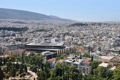 New acropolis museum Royalty Free Stock Photos