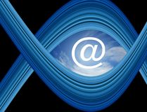 New age communications Royalty Free Stock Photo