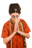 New Age Man Giving Blessing Royalty Free Stock Image