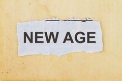 New age Royalty Free Stock Photo
