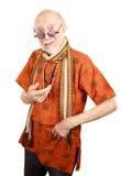 New Age Senior Man Royalty Free Stock Photo