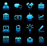 New Age Technology Icons Collection Stock Photography