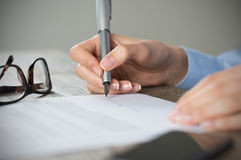 New agreement Royalty Free Stock Photography