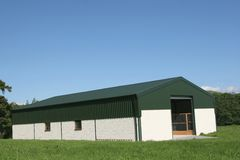 New Agricultural Barn Royalty Free Stock Image