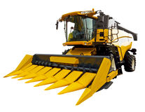 New agricultural harvester Stock Image