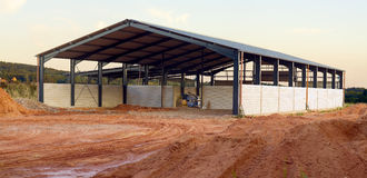 New agriculture building Stock Photography