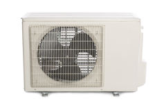 New air conditioner Stock Photo