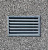 New air conditioning vent on wall Royalty Free Stock Photos