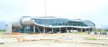 New airport building in Labuan Bajo Royalty Free Stock Photos