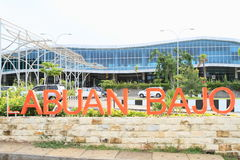 New airport building in Labuan Bajo Stock Images