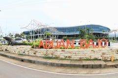 New airport building in Labuan Bajo Stock Photo