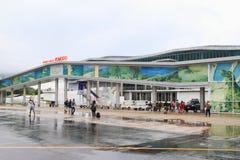 New airport building in Labuan Bajo Stock Photos
