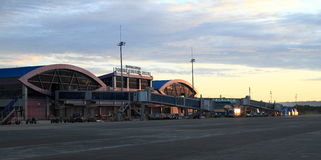 New airport building in Sorong Stock Photography