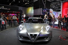 New Alfa Romeo C4 Royalty Free Stock Image