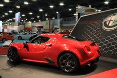 New alfa romeo sportscar rear Stock Photo