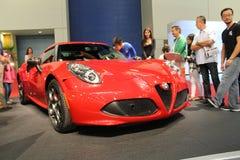 New alfa romeo sportscar Stock Photos