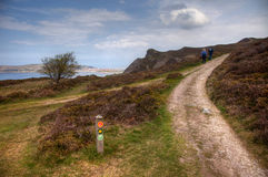 The new All Wales Costal Path Royalty Free Stock Photography