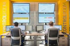 NEW ALSTOM CONTROL ROOM Stock Photo