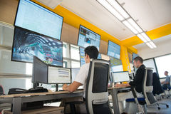 NEW ALSTOM CONTROL ROOM Stock Photography