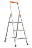 New aluminum stepladder Royalty Free Stock Photos