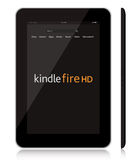 New Amazon Kindle Fire HD tablet vector illustration