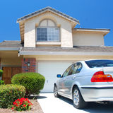 New American dream home Royalty Free Stock Photography