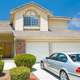 New American dream home Royalty Free Stock Photos