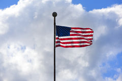 New American Flag Royalty Free Stock Photography