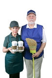New American Gothic Royalty Free Stock Image