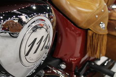 New american motorcycle Stock Photography