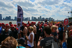 New Amsterdam City Swim Stock Images