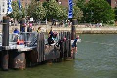 New Amsterdam City Swim Royalty Free Stock Photo