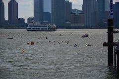 New Amsterdam City Swim Royalty Free Stock Photography