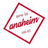 New In Anaheim rubber stamp Royalty Free Stock Photos