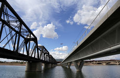 Free New And Old In Addition To Modern Art At The Tempe Town Lake Stock Images - 71148344