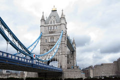 New Angle of Tower Bridge, London Stock Image