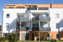 New apartment with balconies Stock Photography