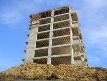 Construction in Tirana, Albania royalty free stock image
