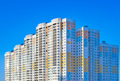 New apartment building Royalty Free Stock Photo