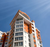 New apartment building royalty free stock image
