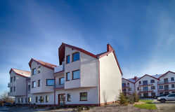 New apartments buildings Royalty Free Stock Images