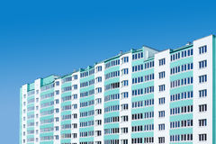 New apartment building Royalty Free Stock Photos