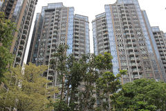 New apartment building in tseung kwan O Stock Image