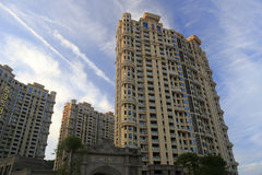 New apartment buildings Royalty Free Stock Photo