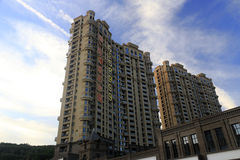 New apartment buildings Royalty Free Stock Photos