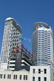 New apartment buildings in Auckland downtown - New Zealand Royalty Free Stock Images