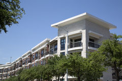 New apartment buildings with balcony Stock Photos
