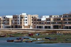 New apartment buildings inn Rabat Royalty Free Stock Photos